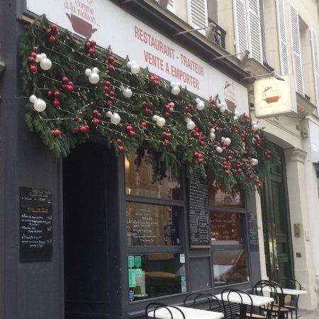 Restaurant Rue Vignon Paris
