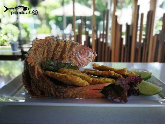 Santa Ana, Costa Rica: Pargo Entero Frito, para los amantes del pescado entero.