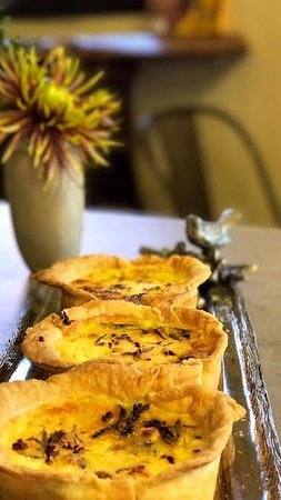 Willits, Kalifornien: Roasted Pumpkin & Red Chard Quiche
