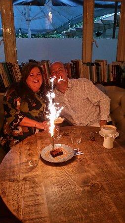 Lymm, UK: happy birthday!