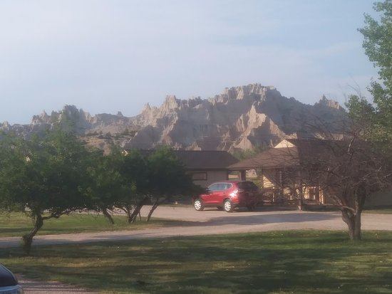 Cedar Pass Lodge: View from my porch
