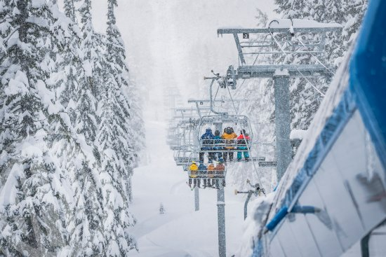 Bend, OR: Mt Bachelor chairlift