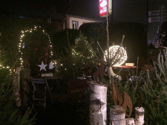 Restaurant Au Cerf : Рождественская сказка