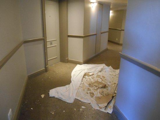 Protea Hotel Port Elizabeth Marine: Some of the rubble on show.