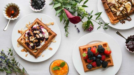 Three Abbey Green: Many ways with waffles!