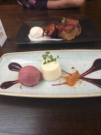 Ramsbottom, UK: Dessert