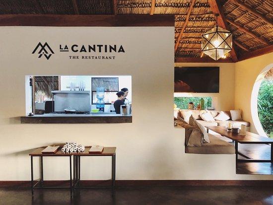 Popoyo, Nicaragua: Open Kitchen at La Cantina