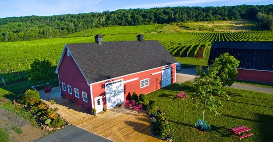 Wolfville, Canada: The Gaspereau Valley's first established winery opened in 2004 to the public.