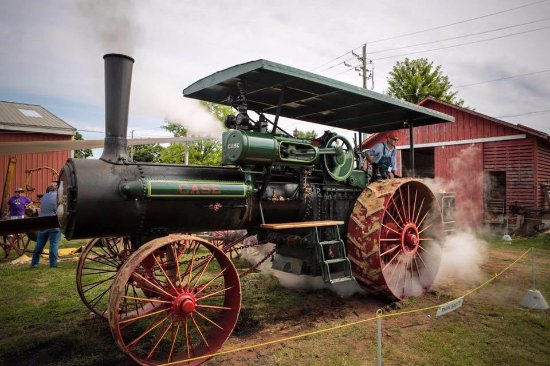 Greencastle, IN: Steam engine from the 1800s