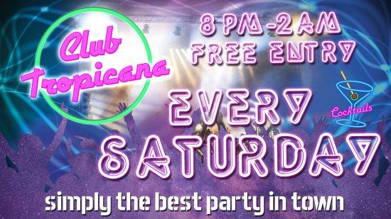 Hereford, UK: Rubix Does Club Tropicana
