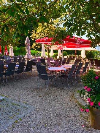 Hallwang, Österreich: Breakfast area