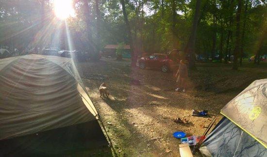 Λέμπανον, Μιζούρι: Our camping spot