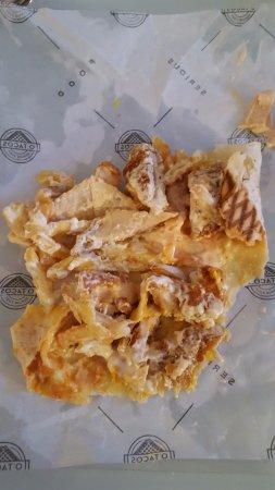 Анген-ле-Бен, Франция: intérieur d'un Tacos