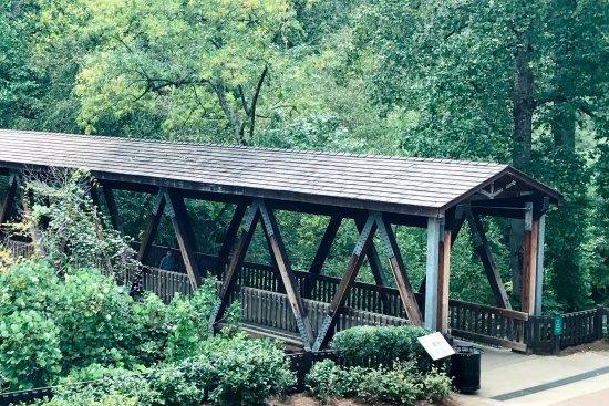 Roswell, GA: Covered bridge