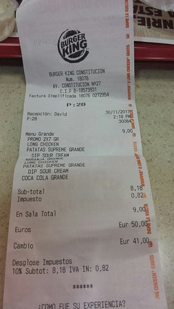 Burger King Picture Of Burger King Seville Tripadvisor