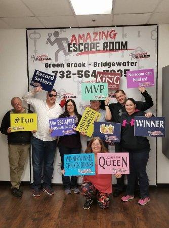 Green Brook, Nueva Jersey: Winners!