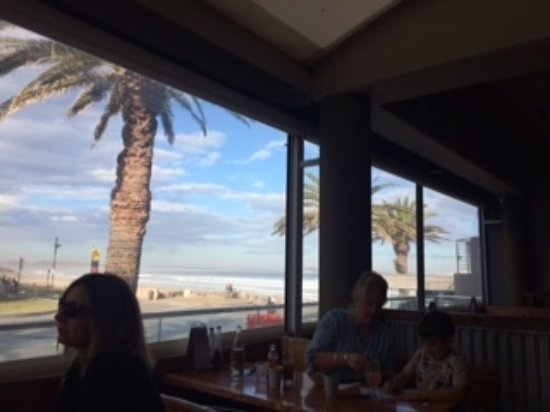 Hog's Breath Cafe: The view from our table