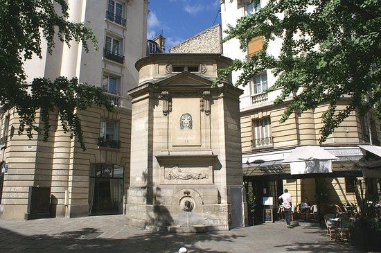 Fontaine des Haudriettes