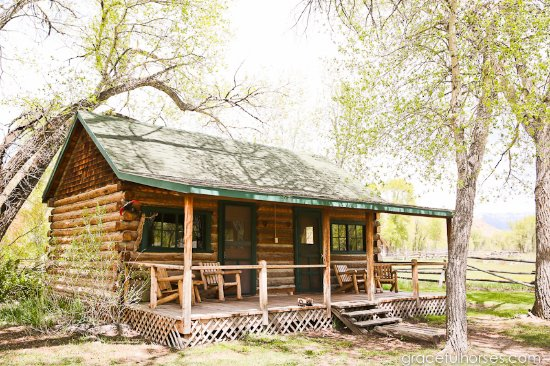 cabin foto the lazy l b ranch dubois tripadvisor