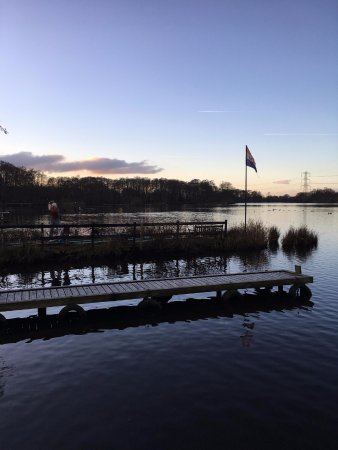 Garstang, UK: View from our own personal harbour