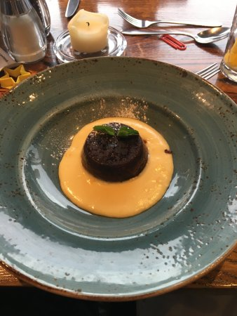"Inverurie, UK : ""Rich"" christmas pudding"