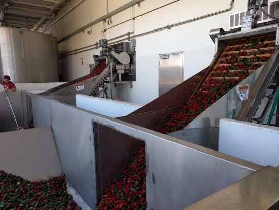 Huy Fong Foods: Peppers in conveyors
