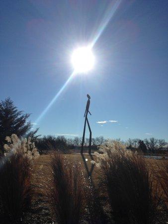 Hesston, KS: Fall walk around pond
