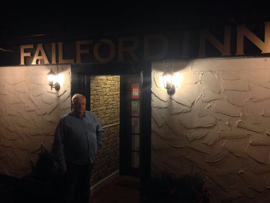 The Failford Inn: Warm and cosy real fire inside for the winter.