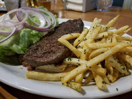 Sparks, NV: Steak Sandwich and Fries