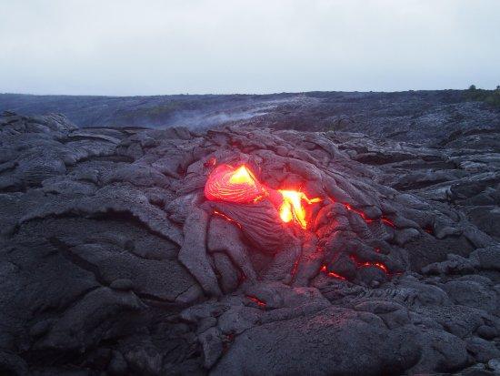 Pahoa, HI: Active lava