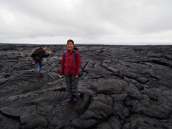 Pahoa, Hawaï : Our awesome guide.