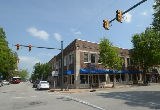 New Bern, Carolina del Norte: il locale visto dalla strada
