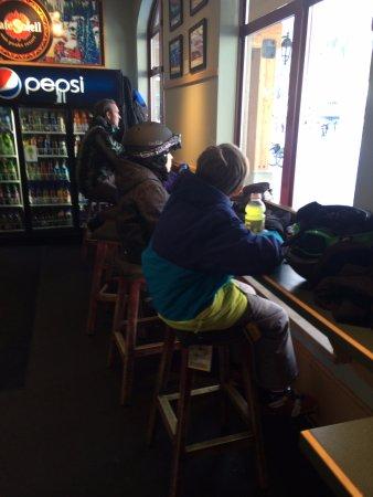 Sun Peaks, Canada: Cafe sun