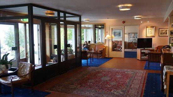 Balestrand Hotel: Comfortable lobby
