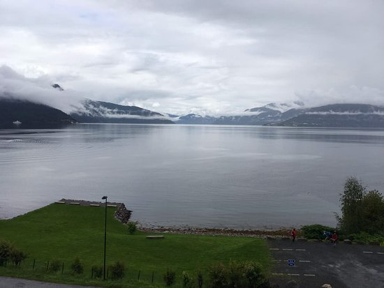 Balestrand Hotel: View from the balcony