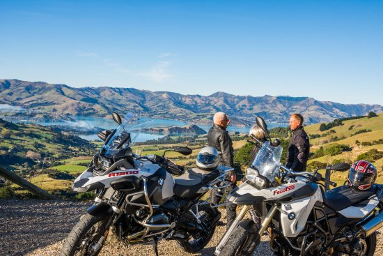 Rolleston, New Zealand: NZ Motorbikes, Self Drive Motorbike Rental, Banks Penninsula, Canterbury, NZ