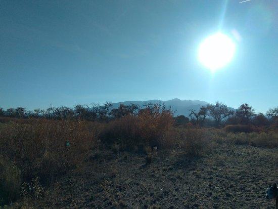 Rio Rancho, NM: View of the Sandia Mountains