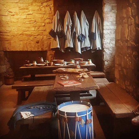 Youngstown, Νέα Υόρκη: In the castle you'll find the living quarters of the commandant and the barracks