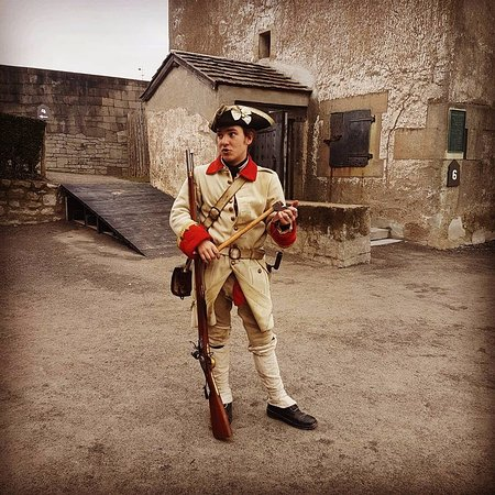Old Fort Niagara: The firing squad