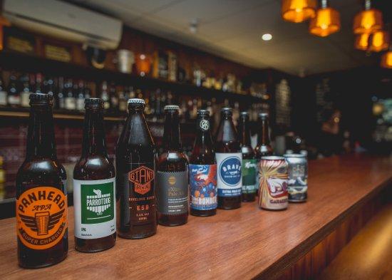 Havelock North, Nueva Zelanda: Large craft beer selection