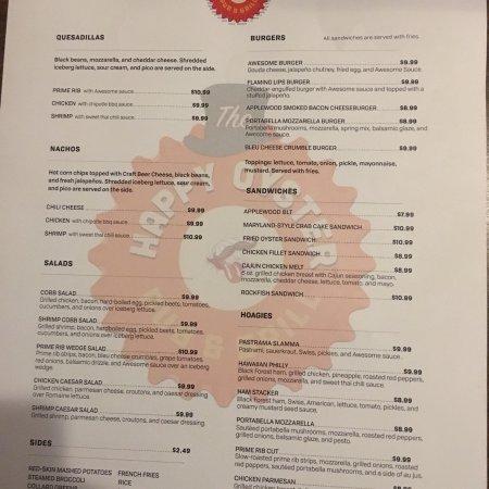 Gloucester, VA: Winter menu!