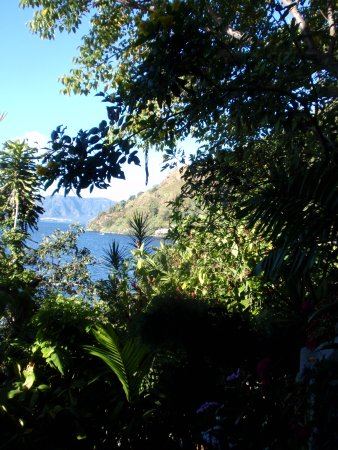 Jaibalito, กัวเตมาลา: View from our bathroom window