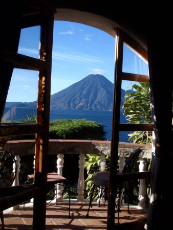 Jaibalito, กัวเตมาลา: Our private balcony and its view!