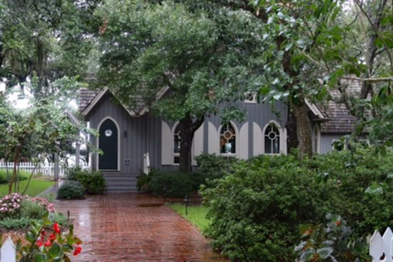 Bald Head Island, NC: beautiful even in the rain