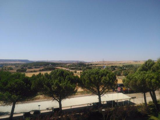Magaz de Pisuerga, España: Vista desde la ventana