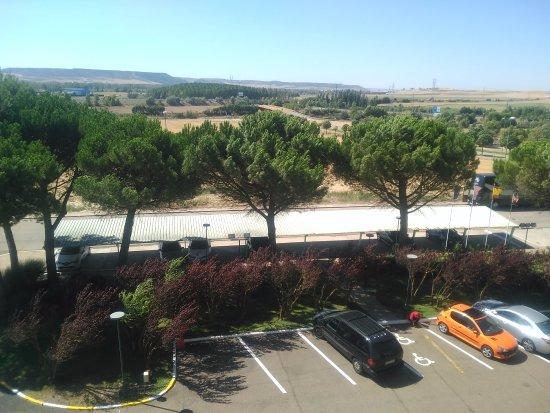 Magaz de Pisuerga, España: Vista desde la habitación