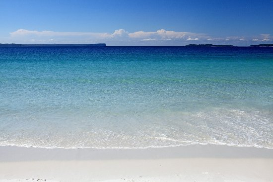 Kiama, Αυστραλία: Jervis Bay - whitest sand in the world