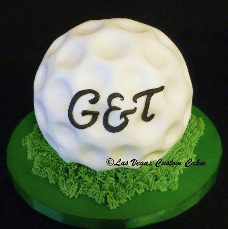 Golf Ball from Cake Picture of Las Vegas Custom Cakes Las Vegas
