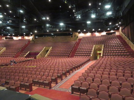 Branson, MO: We had a backstage tour, before the performance, of the Sight and Sound Theater