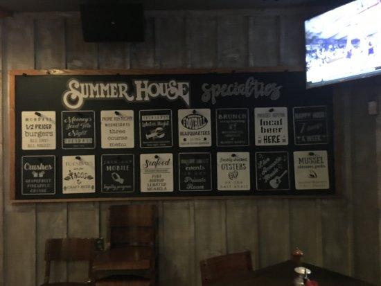 Summer House: Summerhouse Bar and Restaurant